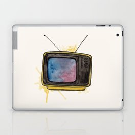 Yellow TV Laptop & iPad Skin