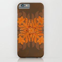 Hawaiian Quilt Series: Plumeria iPhone Case