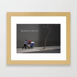 Dream series Framed Art Print