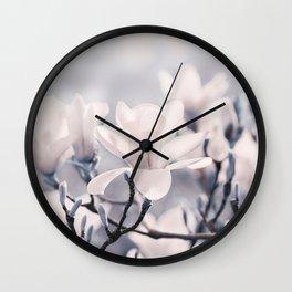 Magnolia gray 116 Wall Clock
