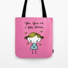 Girl Boner Tote Bag