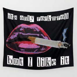 it's only rock'n'roll Wall Tapestry