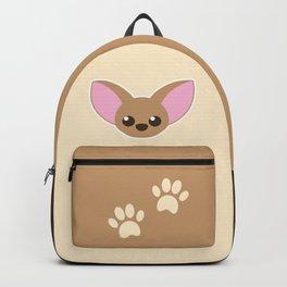 Cute Chihuahua puppy dog Backpack
