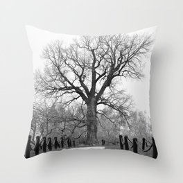 Century Oak Throw Pillow