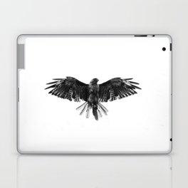Black Bird White Sky Laptop & iPad Skin
