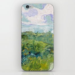 Vincent van Gogh Green Wheat Fields, Auvers iPhone Skin