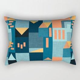 Yellow Klee houses Rectangular Pillow