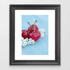 Cherry Beauty Framed Art Print