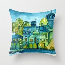 Parco del Valentino - Torino Throw Pillow
