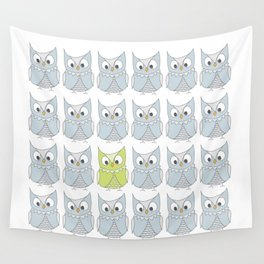 Owl be different Wall Tapestry
