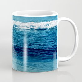 aqua foamy sea Coffee Mug