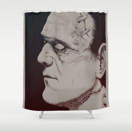 Monster Masters: Boris Karloff Shower Curtain