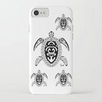 tortoise iPhone & iPod Cases featuring Tortoise by ceceï
