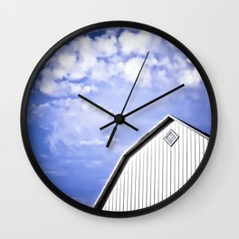 A Storm is Brewing Wall Clock