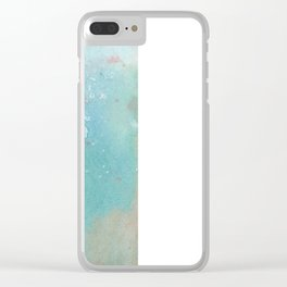 Abstract No. 163 Clear iPhone Case