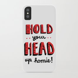 Head Up iPhone Case