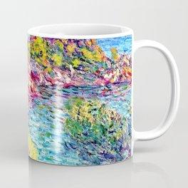 Landscape near Montecarlo - Claude Monet Coffee Mug