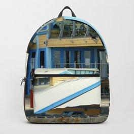 The blue Restaurant Backpack