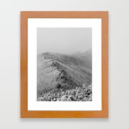 Mists of Mt. Moosilauke Framed Art Print