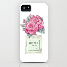 hetero tears iPhone Case