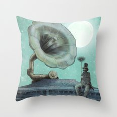 The Chimney Sweep Throw Pillow