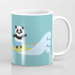 Surf Panda Coffee Mug