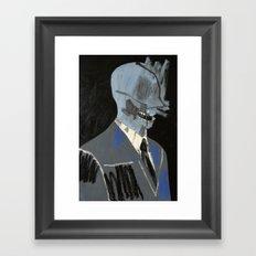 Salesman. 2015. Framed Art Print