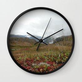 Mountain Crisp Wall Clock