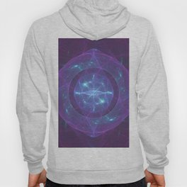 Blue Eye of the Purple Dragon Hoody