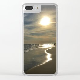 Follow the Shore Clear iPhone Case