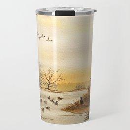 Hunting Pintail Ducks Travel Mug