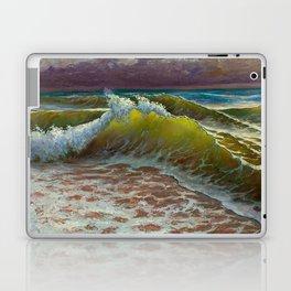 wild waves Laptop & iPad Skin