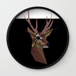 Deer poster picture mug bag rug clock shirt print framed Wall Clock