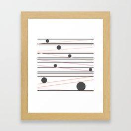 Keen Attempts Framed Art Print