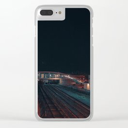 Space mirage Clear iPhone Case