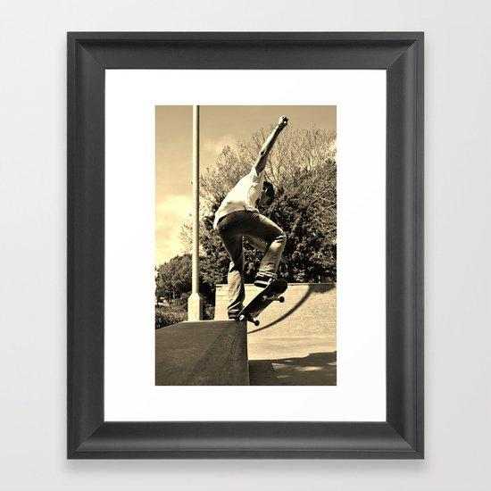 Adam Lindles 2 Framed Art Print
