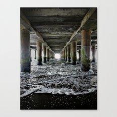 Die Flut kommt Canvas Print