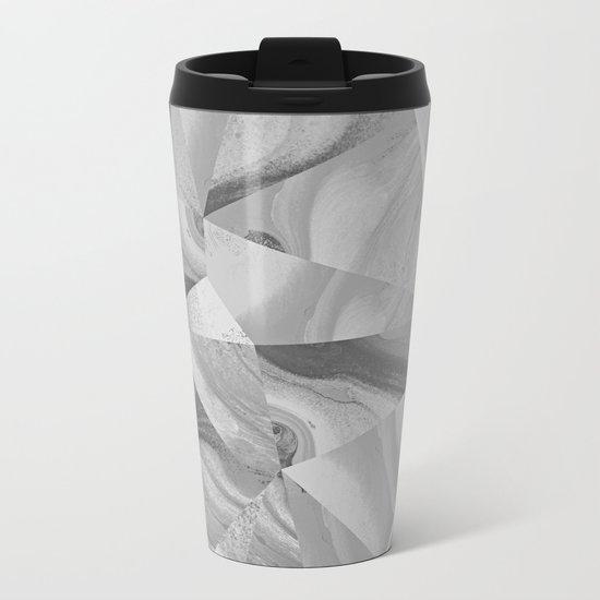 Irregular Marble II Metal Travel Mug