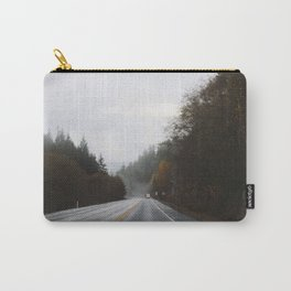 Overcast Fall Road Carry-All Pouch