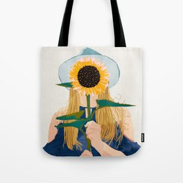 Miss Sunflower || Tote Bag