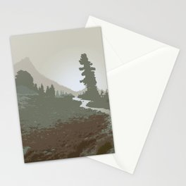 FOGGY MOUNTAIN TRAIL Stationery Cards
