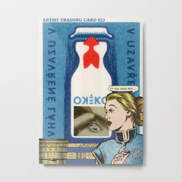 Artist Trading Card 023 Metal Print