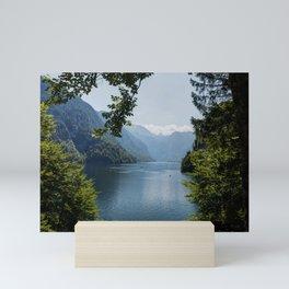 Germany, Malerblick, Mountains - Alps Koenigssee Lake Mini Art Print