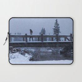 Bridge to Snow-where Laptop Sleeve