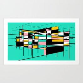 Candi Art Print
