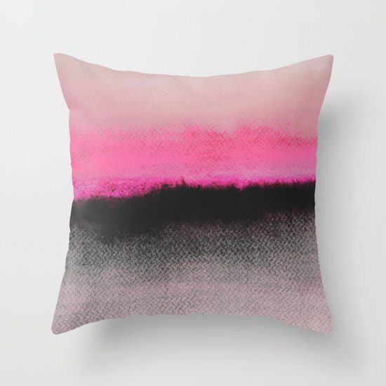 Double Horizon Throw Pillow