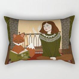 fox tales Rectangular Pillow