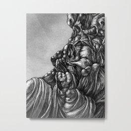 Facade Metal Print