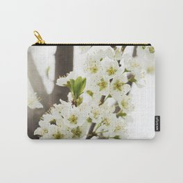 Plum Tree Blossom Carry-All Pouch