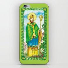 Saint Patrick iPhone & iPod Skin